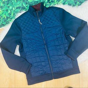 NWT Perry Ellis blue casual jacket M